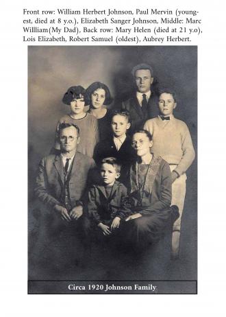 The Johnson Family Photo, circa 1920