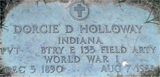 Dorcie Daniel Holloway Gravesite