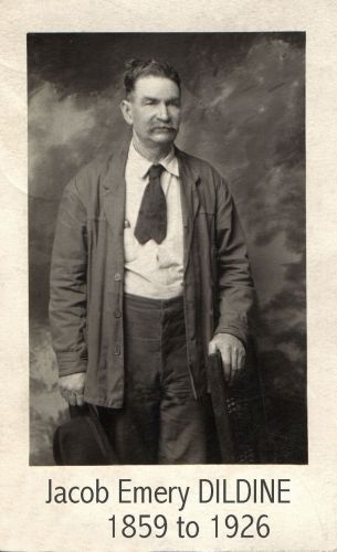 Jacob Emery DILDINE in Red Bluff, California