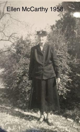 Ellen McCarthy, 1958