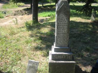 Lorinda L Long Smith tombstone