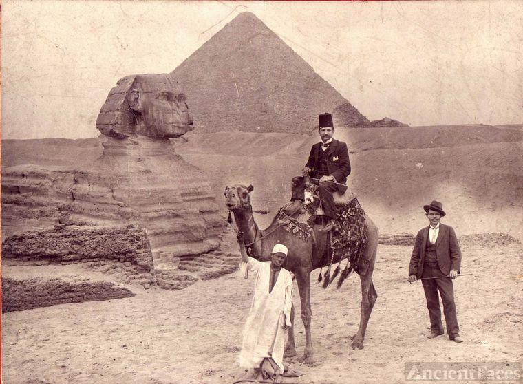 Las pirámides y el bisabuelo