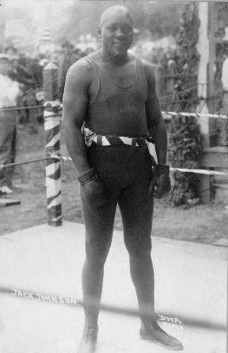 Jack Johnson - Boxer