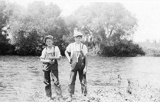 Hooper Boys on Kings River