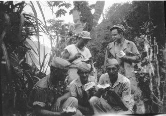 Leonard Konieczka, New Guinea