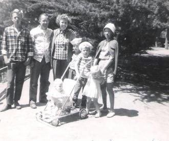 Brown family in China Lake, CA