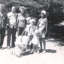 Brown family in China Lake, CA