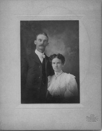 Ben Barnett and Bessie Gonzalez