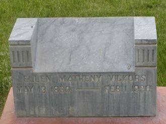 Ellen Matheny Vickors