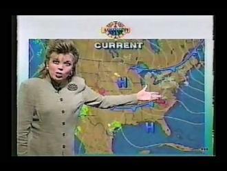 Jeanetta Jones on The Weather Channel (1994)