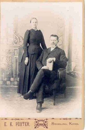 Rev. W.L. Hinshaw and wife