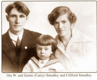 Ora Jennie And Clifford Smedley