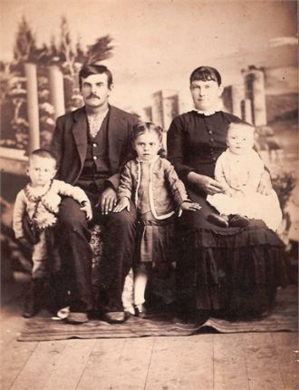 John S Anderson Family Circa 1888