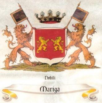 Brasão da Família Mariga (Mariga Family Crest)