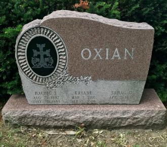 Kayane Oxian Gravesite