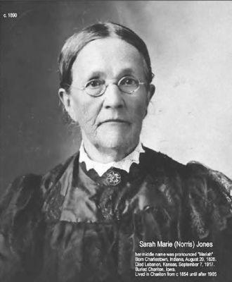 Sarah Marie (Norris) Jones