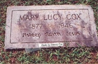 A photo of Mary Lucy Cox
