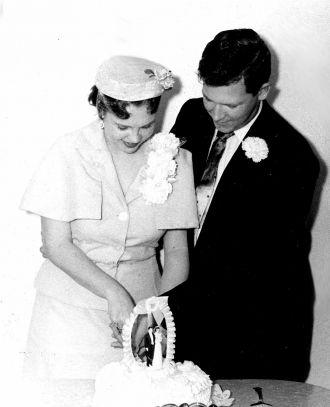 Bob & Georgie Lamb, 1957 Texas
