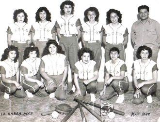 La Habra Aces 1949 California