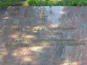 Peter Ustinov Gravesite