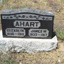 Elizabeth Field Ahart Headstone