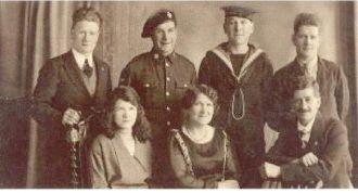 Henry & Alice Batchelor Family, 1927