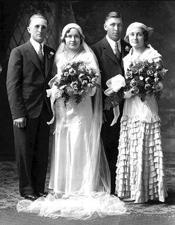 Joseph & Hilda (Kirscht) Psyk, Minnesota 1933