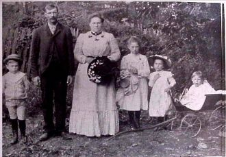 Darius & Campsidel (Haines) Burns Family, Maryland