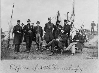 139th Pennsylvania infantry Civil War