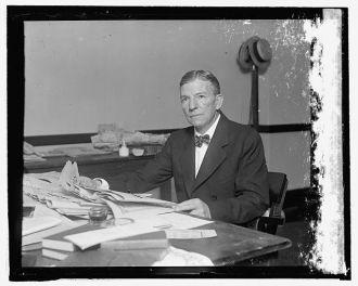 Hon. Henry Miner, Dir. Public [...] Natl. Democratic...