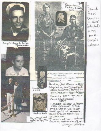 Dorothy B. (Huff) Daggett, Michigan