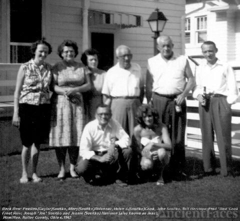 John Sositko and his children