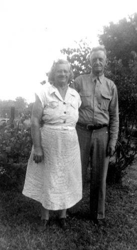 Mr.John Brown and Minnie Eula Parrish