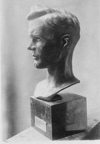 Lindbergh bust