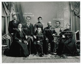 Joseph Schindler Family 1907 Austria