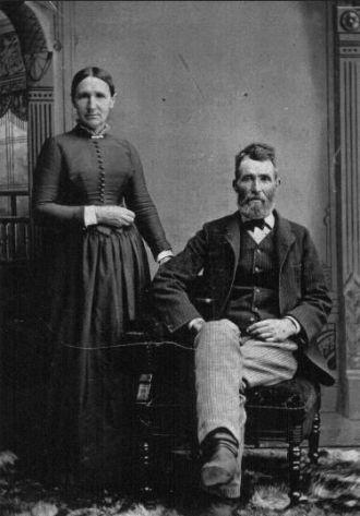 Charles Pecor and Lucinda Rodrick
