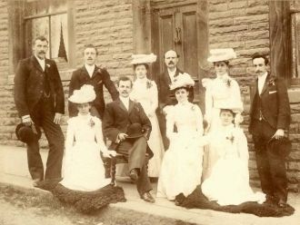 Marriage of Herbert Snell & Rose Annie Lonsdale