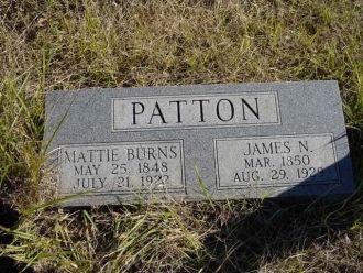 Patton Headstone
