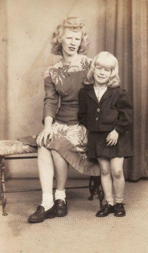 Mary & Maryfay Pike, 1947