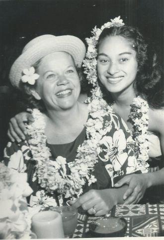 Fern Poe in Waikiki