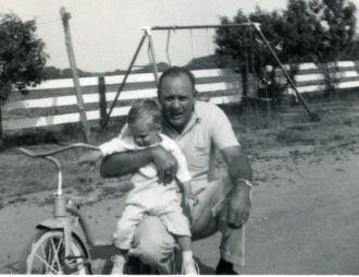 Walter E Watson Sr and child
