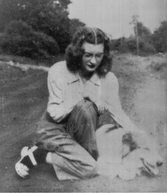 A photo of Frances Joan (Latshaw) Confer