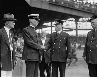 Watson & Sullivan at Police Fireman's ball game, [9/13/24]