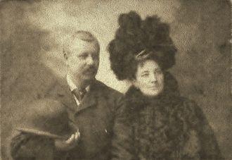 Margaret Sturman & James Perkins 1890