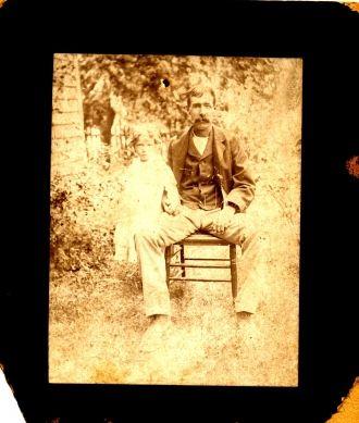 Fanny Marie (Fulks) Kearns & Father, OH