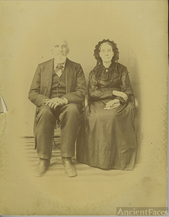 Elihu C. & Eliza (Biggs) Mauldin, Texas 1880's