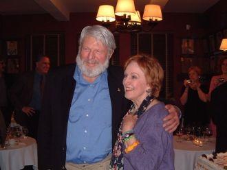 Marni Nixon and Theodore Bikel