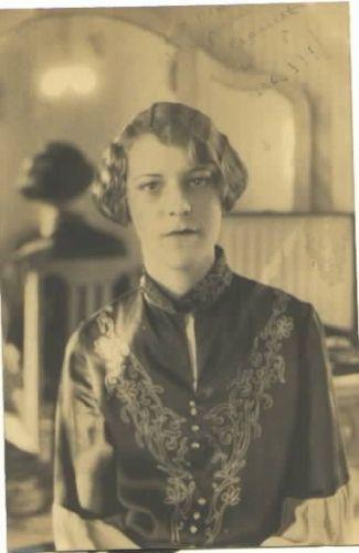 Janice (Crossett) Downing Bates, Oklahoma 1925