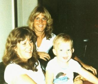 """DJ"" and his mom & aunt"