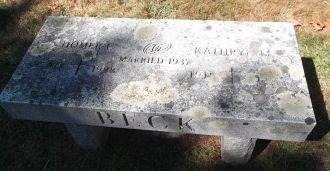 Kathryn & Homer Beck gravesite